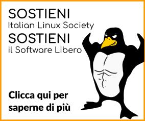 Sostieni Italian Linux Society